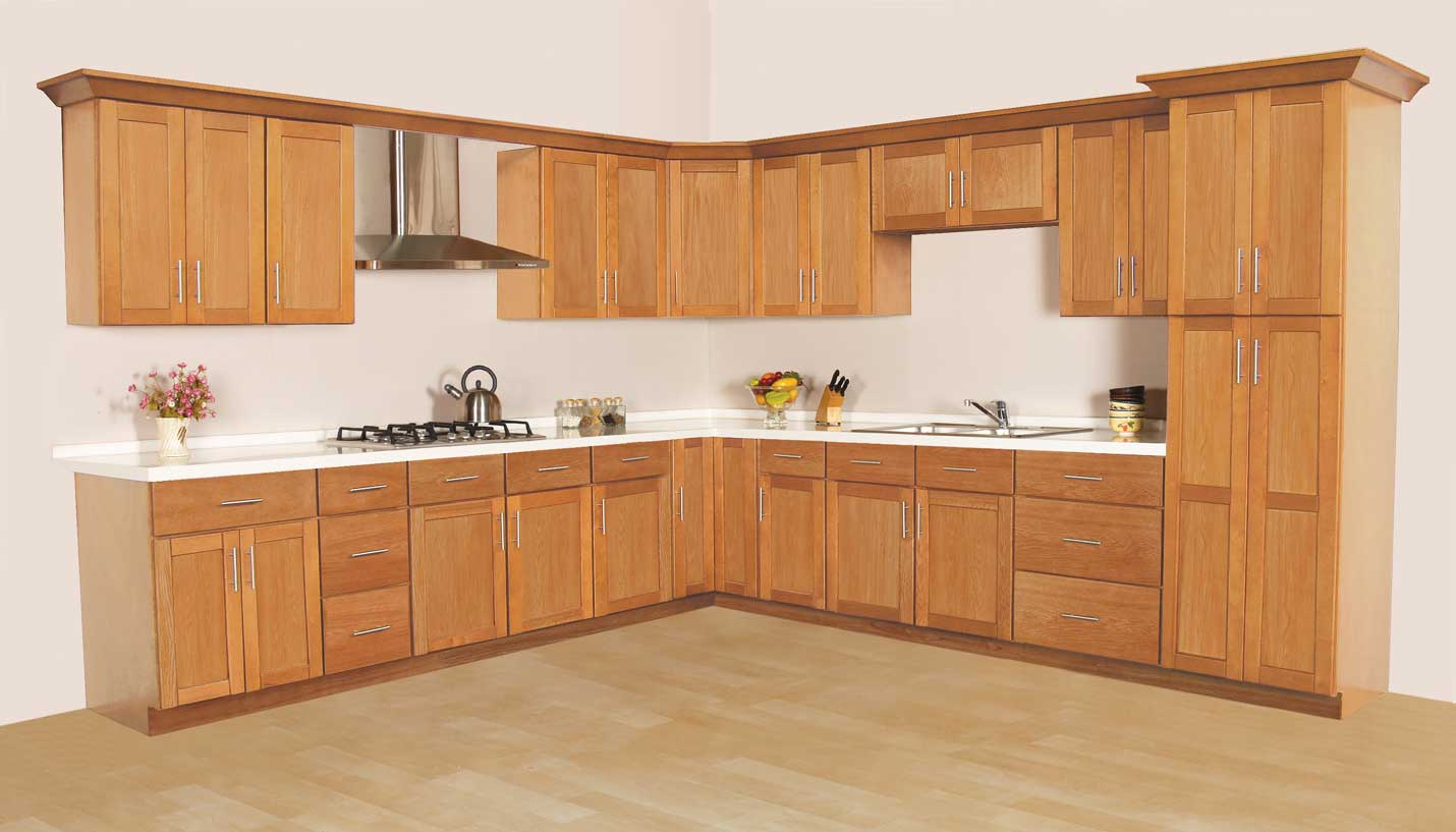 Lancaster Shaker Oak   Welcome to GHI Cabinets ...