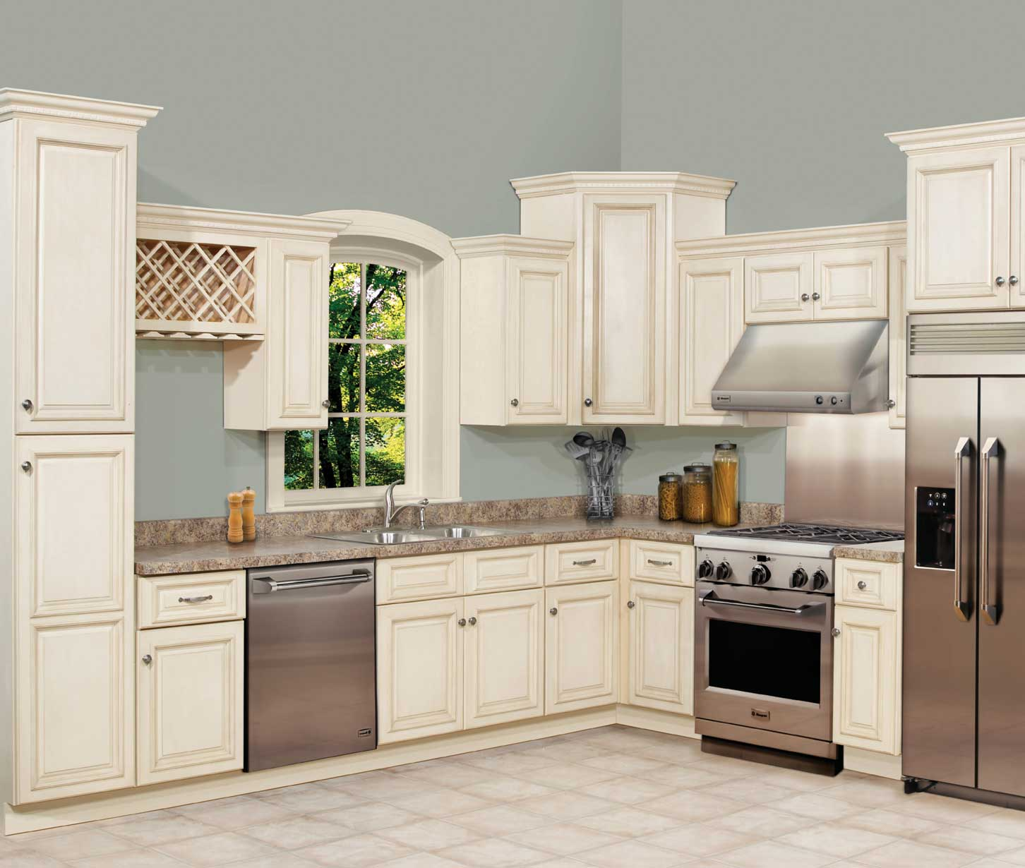 Ghi cabinets for Kitchen cabinets qatar